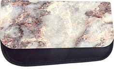 Rosie Parker Inc. - TM Medium Sized Cosmetic Case-Made in the U.- White Granite * You can find out more details at the link of the image. Makeup Usa, Makeup Tips, White Granite, Cosmetic Case, Makeup Organization, Dog Tag Necklace, Cosmetics, Medium, Image Link