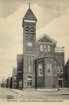 Salem United Brethren Church, Lebanon, PA