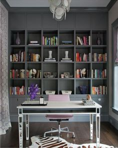Home office via Interiors Magazine