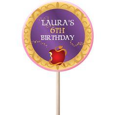 Descendants PERSONALIZED Large Lollipops - 12 Pack Party Supplies Canada - Open A Party