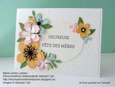 Les créations de Marie-Josée  Botanical Blooms  Bonne fêtes de mères à toutes les mamans!
