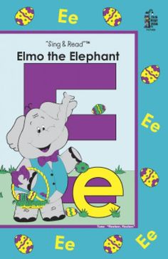 frog street letter elmo the elephant - Google Search