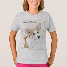 Pembroke Welsh Corgi T-Shirt  $17.75  by alpendesigns  - cyo diy customize personalize unique