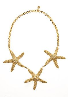 #Yochi Starfish Necklace #ideeli