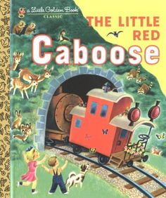 The Little Red Caboose (Little Golden Book) by Marian Potter, http://www.amazon.com/dp/0307021521/ref=cm_sw_r_pi_dp_eSZbrb0T9CW1D