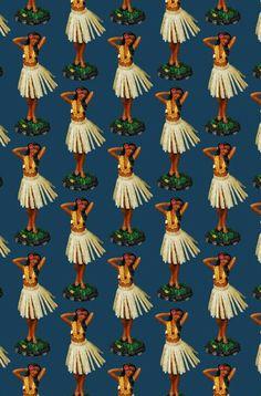 Imagem de girl, hawaii, and hula Hawaiian Girls, Hawaiian Art, Vintage Hawaiian, Beach Trip, Beach Travel, Hawaii Travel, Vintage Travel Posters, Vintage Ski, Hula Dancers