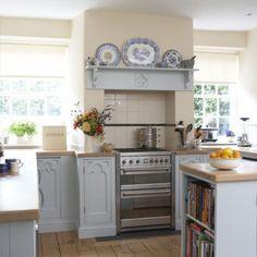 Blue kitchen | Family kitchens - 10 of the best | Kitchen ideas | PHOTO GALLERY | Housetohome.co.uk