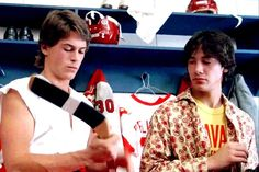 Rob Lowe and Keanu Reeves in Youngblood, Keanu Reeves Quotes, 1980s Films, 80s Movies, Keanu Charles Reeves, Francis Ford Coppola, Rob Lowe, Tennessee Williams, Young Blood, Movies