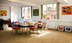 Tarkett eterogen Acczent Excellence 80-4 Color Beige, Leroy Merlin, Dining Bench, Windows, Flooring, Interior, Furniture, Design, Home Decor