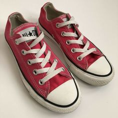 6c05376eefe Womens Size 5 Mens Size 3 Hot Pink Converse S  fashion  clothing  shoes