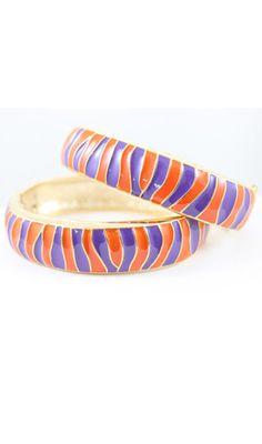 Clemson Bracelet - www.TailgateQueen.com