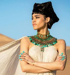 Sofia Boutella's look in The Mummy was created using MAC cosmetics