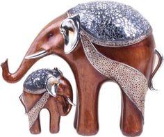 X-Gift Aramani mother and child elephant Showpiece - 20 cm Price in India - Buy X-Gift Aramani mother and child elephant Showpiece - 20 cm online at Flipkart.com