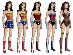 The Evolution of Wonder Woman's Costume