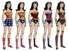 The Evolution of Wonder Woman's Costume