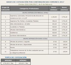 Bases cotizacion 2017