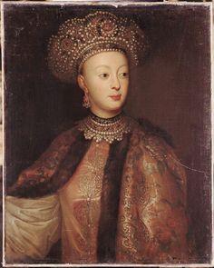 Sophia Alexeievna, daughter of Tsar Alexei I, sister to Peter I