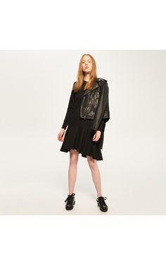 Расклешенное платье, Специальное предложение до -40%, черный, RESERVED