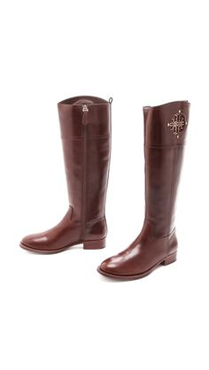 Classic riding boots by Tory Burch. #fallmusthave http://www.revolvechic.com/