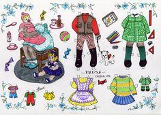 KINITA Y SU FAMILIA - Araceli Heloise - Álbumes web de Picasa Big Family, Children And Family, Bizarre, Vintage Paper Dolls, Retro Toys, Art Pages, Beautiful Children, Kids Rugs, Disney Characters