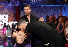 Yes Val, I'll let you kiss my partner, but only on the neck! Haha
