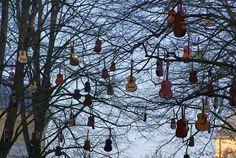 guitar trees by Ökkes Yildirim
