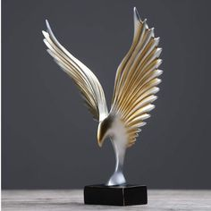 [New] The 10 Best Home Decor (with Pictures) - Glory. Show that you've got what it takes with the Bird Glory Sculpture. This product is part of our latest collection Simpicity. Tea Table Design, Carved Wooden Animals, Statue, Mughal Paintings, Trophy Design, Art Sculpture, Tree Wall Art, Human Art, Pin Up Art