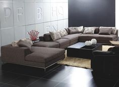 Modern Sectional Cute Contemporary Sectional Sofa - Home Design ...