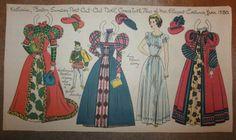 Regency, Katherine paper doll / eBay