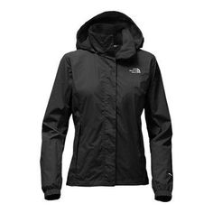 The North Face Women's Resolve 2 Hooded Rain Jacket