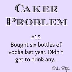 Seeing lots of alcohol bottles in cake photos, but I'm pretty sure you're not drinking them.. #dontdrinkjustglueit #vodkaismysugarglue www.youtube.com/user/cakestyletv