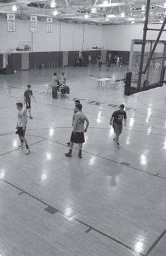 Every Pottruck membership includes access to our basketball courts!