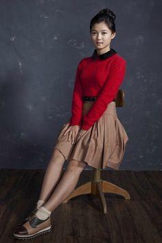 Kim Yoo Jung, Aesthetic Photography Nature, Beautiful Actresses, Kdrama, Korean, High Neck Dress, Actors, Female, Celebrities