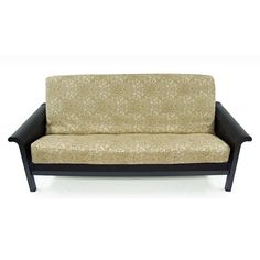 Seasonal decorating throughout your home is fun and easy with this durable and easy-to-care-for twill futon cover. The fabric cover features a concealed three-sided zipper for easy use, and is conveniently machine washable.