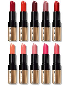 Bobbi Brown Luxe Lip Color Launches for September 2015 (Temptalia) Expensive Makeup Brands, Bobbi Brown Lipstick, Makeup Collection Storage, Beauty Kit, Beauty News, Huda Beauty, Lipstick Brands, Lipsticks, Givenchy Beauty