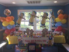Das Caillou Birthday Party