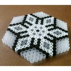 Coaster perler beads by ssongazm80