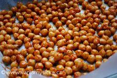 Pražená cizrna Beans, Vegetables, Food, Essen, Vegetable Recipes, Meals, Yemek, Beans Recipes, Veggies