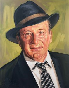 Le maire  Huile sur toile  Par Emil Ungureanu