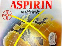 Anuncio de Aspirina en alemán