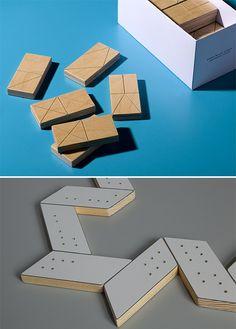 Oblique & semaphor domino sets  http://www.semaphor-oblique.com/