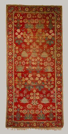 Carpet, Mughal period, ca 1650