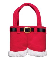 """Use as a stocking stuffer or cute tree ornament, and stuff with your favorite Avon minis! 6 1/2"""" H x 4 1/2"""" W. Polyester.     Not for food use. Adult use only."""