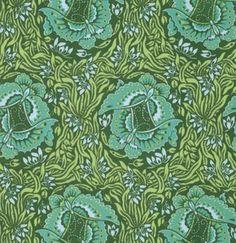 Take Flight: Jade : Beautiful Fabric at www.backstitch.co.uk