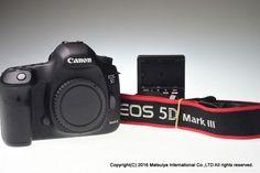 Canon EOS 5D Mark III Body 22.3 MP Digital Camera Shutter Count 24631 Excellent+ #Canon