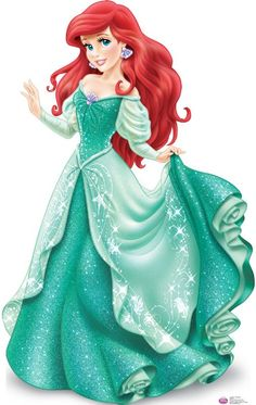 Ariel in Glittery Gown Cross Stitch KIT by CSDesignsbyLeah on Etsy, $30.00/ Very cute for a little girl!!