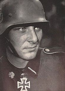 """Fritz Christen served with the 3rd SS Panzer Division """"Totenkopf"""" He was the youngest soldier to receive the Knights Cross. On Sept. 23. 1941, after his comrades were killed he singlehandedly over the next three days knocked out 13 Soviet tanks and over 100 Red Army soldiers, that were trying to overwhelm his position. He did this with his 50MM PAK cannon. He is still living today."""