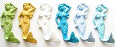 Wandhaken mal anders -- Cast Iron Mermaid Wall Hook/Mermaid Wall Hook/Cast Iron Home Decor/Mermaid Wall Hook/Cast Iron Mermaid/Mermaid Beach Decor/Mermaid Decor Art