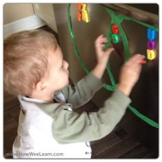 Sorting letters is a great way for preschoolers to learn the alphabet! Awesome use of venn diagrams!