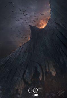 Game of Thrones Concept Art by Gabriel Yeganyan